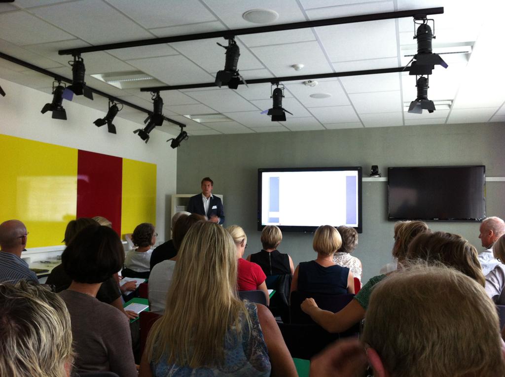 Thijs van Neunen præsenterer den hollandske løsning
