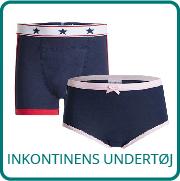 Inkontinens undertøj til børn